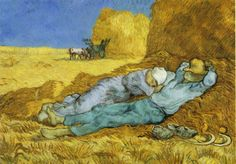 CONTADINI IN SIESTA -  Vincent Van Gogh