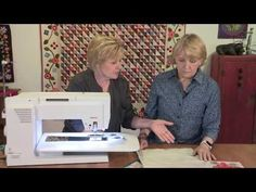"""Connie and Nina give you tips on creating """"fill"""" stitches, such as stippling, to highlight areas of your quilt. They discuss the proper feet and the use of m. Longarm Quilting, Free Motion Quilting, Quilting Tips, Quilting Tutorials, Machine Quilting, Sewing Tutorials, Sewing Projects, Sewing Tips, Video Tutorials"""