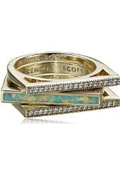 Kendra Scott Bryce White Cubic Zirconia Pave Ring from $48.99 by Amazon BESTSELLERS