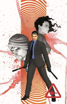 """D.G. undercover! """"Grayson"""" 9 finds Dick getting smart with a new 99! (The secret message is the logo of Newsarama!)"""