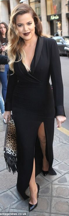 Khloe Kardashian in Paris