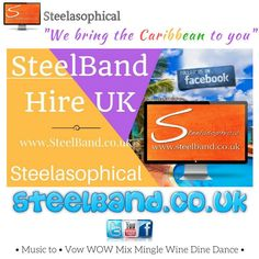 Steelasophical Musical Entertainment ::: STEELBAND.CO.UK :::        At Steelasophical Steel Band Hire UK ::: We bring the Caribbean to you :::  #wedding #party #love #Steelband #SteelBandMusic #WeddingSteelband #Steelpan #Steeldrums #WeddingDay #Wedding #SteelBandhire #steelbandshow #WeddingVenue #Steelasophical_steelband Steelasophical Steel band hire