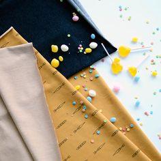 NUOLI Denim look college, Taffy | NOSH Fabrics Spring & Summer 2016 Collection - Shop at en.nosh.fi | Kevään 2016 malliston kankaat saatavilla nyt nosh.fi