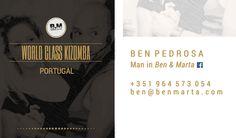 Cartão de Visita / Marca: Ben & Marta / Verso