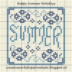 Creative Workshops from Hetti: Vakantie / Holidays