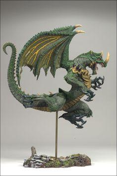 McFARLANE'S DRAGONS SERIES 8 THE RISE OF MAN  January 2008 Berserker Clan Dragon 6