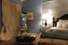 Blair Waldorfブレア(レイトン ミースター)のベッドルーム@ゴシップガールインテリア
