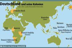 deutschland und seine kolonien; the once former german colonies