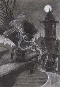 Mistborn by SGomezIllustration on Etsy https://www.etsy.com/listing/456574824/mistborn