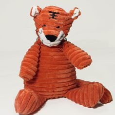 Cordy Roy Large Orange Tiger Toy - French Pear Gifts