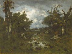 Lichtung im Wald von Fontainebleau (M+) | DIE PINAKOTHEKEN