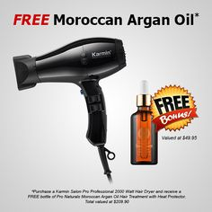 FREE Moroccan Argan Oil! Click the link for more details. http://www.safrons.com/free-moroccan-argan-oil