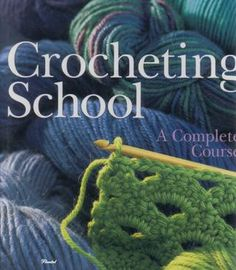 Crocheting school – a free online book of stitches and technique. | REPINNED