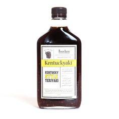 If you're the king of stir fry, our Kentuckyaki Kentucky Style Teriyaki sauce is the perfect addition to your kitchen arsenal. Made in bourbon barrels, this Terryaki sauce will add loads of flavor to your favorite dishes. 375mL.