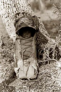 Apache Papoose. It was made in 1903 by Edward S. Curtis.