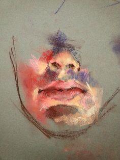 Pastel on Canson Mi-Tientis paperDAMIAN GOIDICH