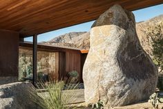 The Desert Palisades Guardhouse by Studio AR+D Architects in Coachella Valley, California | Yatzer