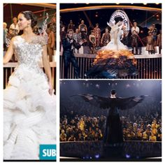 Catching fire katniss mocking jay wedding dress beautiful!!!! Want sooooooo bad!!!!