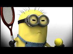 Minions Tennis - YouTube