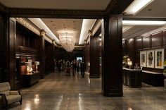 Rosewood Hotel Georgia Lobby,
