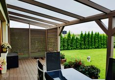 Pergola With Roof Plans Steep Backyard, Backyard Patio Designs, Gazebo Roof, Pergola With Roof, Wood Pergola, Pergola Patio, Cheap Pergola, Outdoor Spaces, Outdoor Living