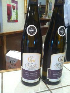 Leelanau Wine Old Mission Chateau Grand Traverse Late Harvest Chardonnay