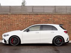 Mercedes AMG A45 S 4Matic+ Plus Mercedes A45 Amg, Used Mercedes Benz, New Mercedes, A Class Amg, Aluminum Blinds, Dual Clutch Transmission, Performance Engines, Bugatti Chiron, Car Detailing
