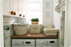 Ideas para organizar el cuarto de lavado o lavandería