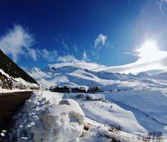 Photo prise le 10/12/2014. Ouverture les 13 et 14 décembre !!! #Peyragudes #NPY #GoPro #Soleil #Winter