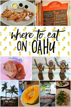 Where to Eat on Oahu from South to Southwest Blog