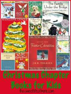 Christmas Chapter Books for Kids | thissweetlifeofmine.com