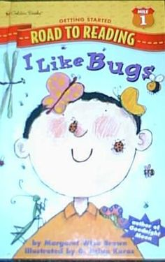 I Like Bugs Book and activities