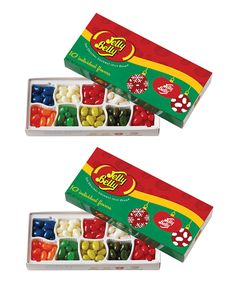 Another great find on #zulily! Jelly Belly 10-Flavor Holiday Gift Box - Set of Two by Jelly Belly #zulilyfinds