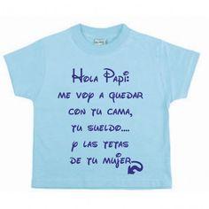una camiseta para bebe