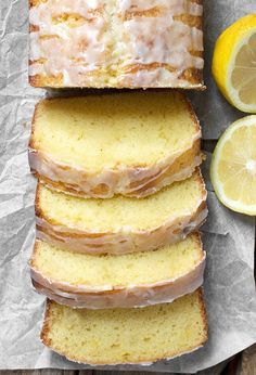 Lemon Pound Cake Loaf - This delicious loaf has been my go-to recipe for lemon loaf for years. Perfectly moist and lemony!Glazed Lemon Pound Cake Loaf - This delicious loaf has been my go-to recipe for lemon loaf for years. Perfectly moist and lemony! Loaf Recipes, Pound Cake Recipes, Lemon Recipes, Baking Recipes, Recipes For Lemons, Buttermilk Recipes, Lemon Loaf Cake, Lemon Bread, Lemon Pound Cakes