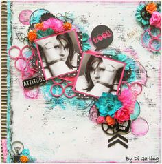 """Di's Creative Space: My 2Crafty Chipboard April DT RevealPart One""""Cool"""""""