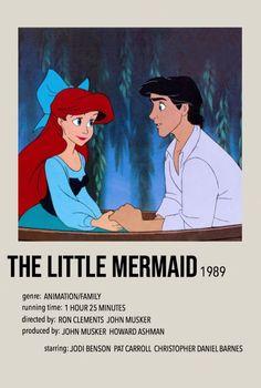 Iconic Movie Posters, Minimal Movie Posters, Original Movie Posters, Iconic Movies, Film Polaroid, Polaroids, Film Poster Design, Poster Art, Little Mermaid Movies