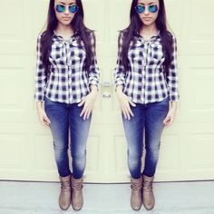 OOTD follow me on Instagram for outfit inspiration @msmichellefeliciano #wiwt #ootd #colormechic #women #fashion #fbloggers #stylechat #style #shoes #streetstyle #clothes #clothing #outfit #wiwt #beauty #blogpost #casualwear #fashionblogger #styleblogger #personalstyle #fashionblog #ifb #ifbbloggers #blogtrends #lookbook #stylefile #whatiwore #fashionista #fashiondiaries #ootd #booties #plaid #cute #casualoutfits #dress #print #sunglasses
