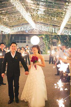 Kenneth and Zee's Garden Wedding at Wild Oats at Mount Emily. #singapore #singaporewedding