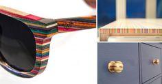 #DIY #Reciclar 19 diseños hechos a partir de patinetas