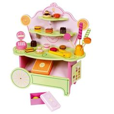 Pastry shop from Djeco - cute!