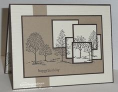 Layered Lovely as a Tree by shoogendoorn - Cards and Paper Crafts at Splitcoaststampers