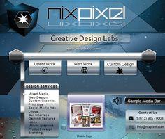 nixpixel.com Design Lab, Web Design, Gui Interface, Game Textures, Media Web, Social Media Ad, Print Ads, Service Design, Creative Design