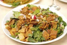 Receita de salada fatuche
