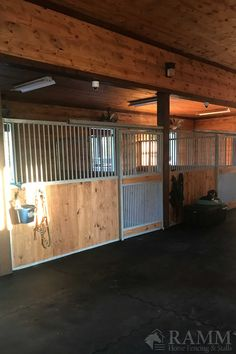 Dublin portable panel horse stalls offer a great portable or permanent horse stall solution. There are several ways to customize these stalls and they really can fit into almost any facility (fabricated after ordering). This horse stall allows for good ventilation and socialization, has no edges for your horse to chew, are easy to install, and has customization options available for feed doors and gates. #dublinstalls #rammstalls #freestandingstalls #horsebarn #horsestable #horsestalls #horses