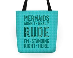 A tote to show people who make ignorant statements.