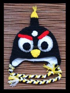 Wściekła czapka - czarna