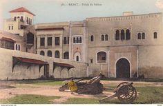 MAROC  Lot De 2 CPA - Rabat  Architecture - Palais Du Sultan + Revue Bd El Alou  . Voir 2 SCANS - Rabat