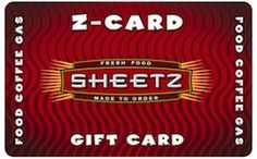 Sheetz eGift Card - $25