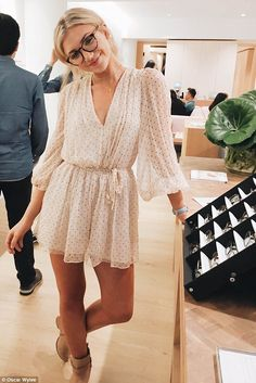 Not so anonymous: Instagram star Gabrielle Epstein said at the launch of Oscar Wylee's Cha...